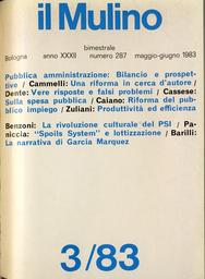 Copertina del fascicolo dell'articolo La rivoluzione culturale del partito socialista