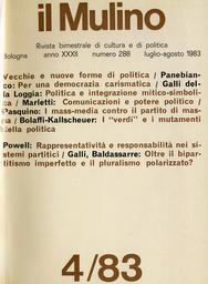 Copertina del fascicolo dell'articolo Un bipartitismo ancora imperfetto