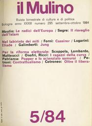 Copertina del fascicolo dell'articolo Contrattualismo