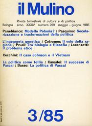 Copertina del fascicolo dell'articolo Guerra e legittimazione politica: il caso di Johnson e del Vietnam