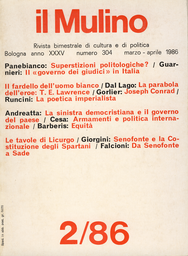 Copertina del fascicolo dell'articolo Mito e realtà di Sparta: Senofonte e la Costituzione degli Spartani