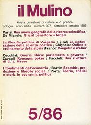 Copertina del fascicolo dell'articolo Teoria, analisi e storia in economia politica