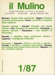 Copertina del fascicolo dell'articolo Le strade della modernità