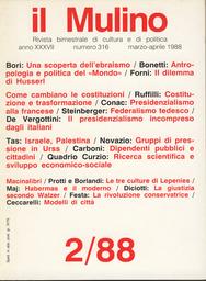 Copertina del fascicolo dell'articolo La giustizia al plurale secondo Walzer
