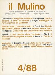 Copertina del fascicolo dell'articolo La regola e l'arbitrio. Finanza pubblica e finanza privata in Italia