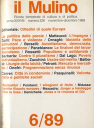 Copertina del fascicolo dell'articolo Idolatria delle istituzioni