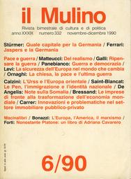Copertina del fascicolo dell'articolo La sicurezza dell'Europa nel mondo che cambia