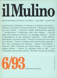 Copertina del fascicolo dell'articolo Da regime a regime. La regola dell'alternativa mancata