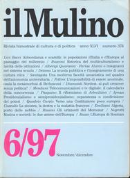 Copertina del fascicolo dell'articolo L'Europa di Bosman
