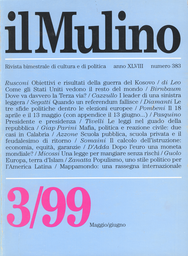 Copertina del fascicolo dell'articolo Mafia, politica e reazione civile: due casi in Calabria