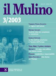 Copertina del fascicolo dell'articolo L'Europa della ricerca per la scienza e la tecnologia