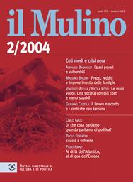 Copertina del fascicolo dell'articolo Cinque tesi sull'Italia che si dice liberale