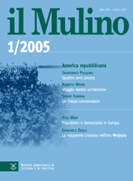 Copertina del fascicolo dell'articolo Populismo e democrazia in Europa