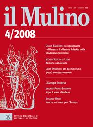 Copertina del fascicolo dell'articolo Italia e Slovenia, ovvero del confine che non c'è più