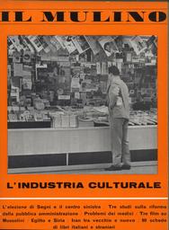 Copertina del fascicolo dell'articolo L'industria culturale
