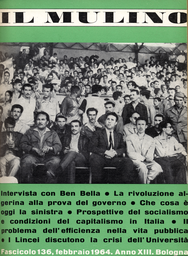 Copertina del fascicolo dell'articolo Prospettive del socialismo in Italia (e interpretazioni del centro sinistra)