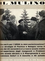 Copertina del fascicolo dell'articolo Sorti di un'antologia sul fascismo