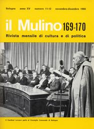 Copertina del fascicolo dell'articolo Editoria e cultura religiosa