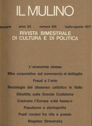 Copertina del fascicolo dell'articolo Poeti vociani fra vita e poesia
