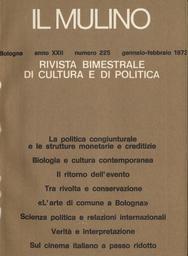 Copertina del fascicolo dell'articolo Tra rivolta e conservazione