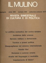 Copertina del fascicolo dell'articolo Servizio militare e democrazia