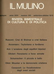 Copertina del fascicolo dell'articolo Peronismo e forze armate