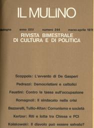 Copertina del fascicolo dell'articolo La lotta per l'egemonia rituale in un quartiere comunista