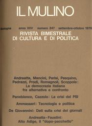 Copertina del fascicolo dell'articolo A proposito dell'intervista di Amendola sull'antifascismo