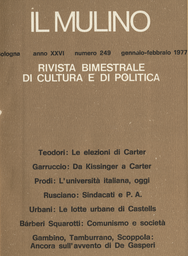 Copertina del fascicolo dell'articolo Problemi attuali e tendenze nuove nell'università iatliana