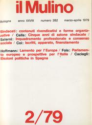Copertina del fascicolo dell'articolo Sindacati in Italia: iscritti, apparato, finanziamento