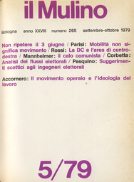 Copertina del fascicolo dell'articolo Un'analisi territoriale del calo comunista